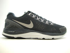 [537475-001] NIKE MENS NIKE LUNARGLIDE+ 4 SHIELD MENS SHOES ANTHRACITE/RFLCT SLV