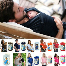 Baby Sling Stretchy Wrap Carrier Soft Backpack Suspenders Nursing Cover