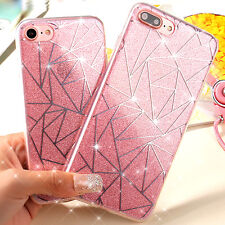 Luxury Ultra thin Bling Glitter Hard Back Case Cover For Apple iPhone 6 7 7 Plus