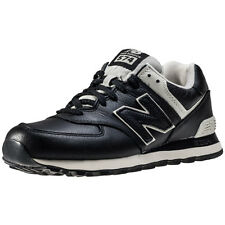 New Balance Ml574 Mens Trainers Black New Shoes