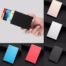 New Aluminum Slim RFID Blocking Wallet ID Credit Card Protector Holder Purse Box
