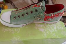 Ed Hardy Low rise shoes Military Color