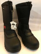"NEW Mens Winter Boots Nylon 10"" Insulated Waterproof Thermolite Ski Snow Boots"