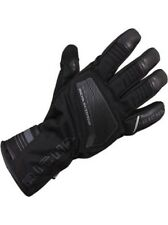 Richa Cave Leather/Textile 100% Waterproof Thermal Hipora Motorcycle Gloves