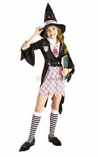 SALE! Kids Charm School Witch Girls Halloween Fancy Dress Costume Party Outfit