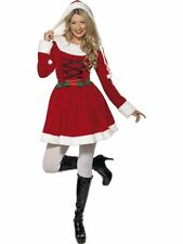Adult Sexy Miss Santa Christmas Ladies Xmas Fancy Dress Costume Party Outfit
