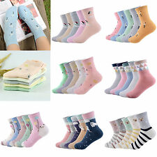 New 5 Pairs Women Socks Winter Warm Thermal Casual Soft Cotton Sport Sock Gift