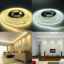 12V 5M SMD 3528 300Leds Flexible Warm Cool White LED Strip Light Non Waterproof