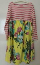 NEW JOULES GIRL PINK STRIPE YELLOW FLORAL TUNIC DRESS 3 4 5 6 7 8 9 10 years