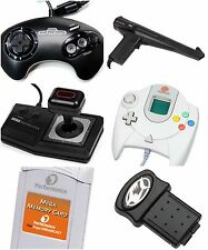 Sega Dreamcast Saturn CD Accessories Variation Lot Bundle Controller VMU Cords