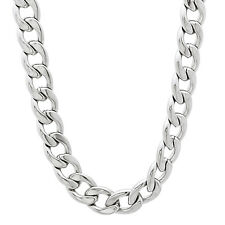 Durable Solid Stainless Steel 7mm Cuban Curb Link Chain Necklace