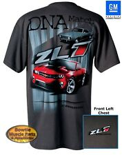 2012 2013 2014 69 CAMARO ZL1 DNA MATCH T-SHIRT 67 68 70 71 72 89 92 97 02 2011