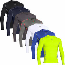 Under Armour Mens Evo Hybrid Coldgear Compression Long S Base Layer in Colours