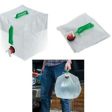Portable Collapsible Folding Camping Water Carrier Handle Container Outdoor Bag