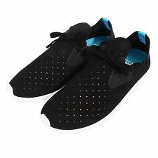 Native Apollo Moc Jiffy Black Shell White Mens Shoes Sneakers 024001-104