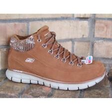 Scarpe Skechers Synergy - Arctic Winter 11970 Chestnut Ankle Boot woman mem