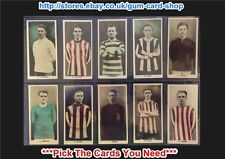 ☆ D.C. Thomson - Footballers 1923 (G) *Pick The Cards You Need*