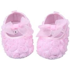 Infant Girl Lace Baby Princess Shoes Soft Sole Toddler Slip-On Crib Shoes 0-18M