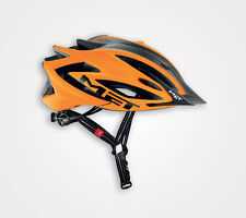 MET Veleno mtb helmet. Flo Orange and Black.  Medium 54 - 57cm