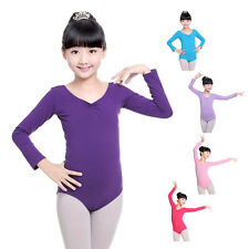 Girls Gymnastics Ballet Dance Leotard Dress Kid Tutu Skirt Skate Party Dancewear