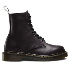 Dr.Martens Pascal 8 Eyelet Antique Temperley Charcoal Womens Boots