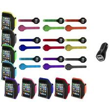 Gym Sports Armband Case Cover+2.1A Charger for iPod Touch 4th 3rd 2nd Gen 4G 3G