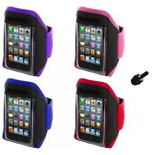 Gym Sports Armband Case Cover+Mini Stylus for iPod Touch 4th 3rd 2nd Gen 4G 3G
