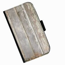 BG 114 WOOD CHIPPING PRINTED LEATHER WALLET/FLIP CASE COVER FOR MOBILE PHONE