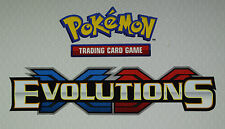 POKEMON XY EVOLUTIONS RARE & REVERSE HOLO RARES - CHOOSE YOUR MINT CARDS