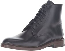 Mens Frye Boots Jones Lace Up Boot Black Leather 86996 BLK
