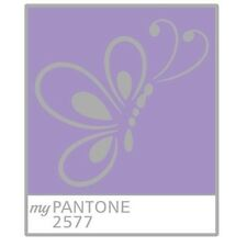 My Pantone 2577 Pathtag Mini Geocoin Alternative
