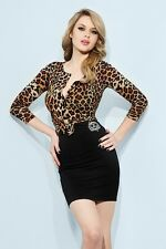 WHEELS AND DOLLBABY LEOPARD CARDIGAN