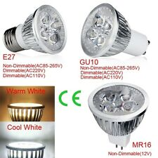 1/5/10PCS LED Light Spotlight E27 GU10 MR16 Bulb Energy Saving Cool/Warm White