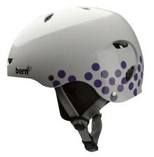 Bern BRIGHTON Ladies' Watersports H2O Helmet Canoe Kayak Wake L White Dot. 43245