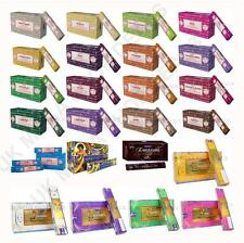 Pack of 3 or Box of 12 Satya Genuine Nag Champa Incense Sticks Joss Mixed Scents