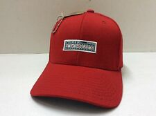(FREE SHIPPING) New PTS SHOE CO. FLEXFIT CAP RED S / M