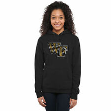 Wake Forest Demon Deacons Women's Black Classic Primary Pullover Hoodie