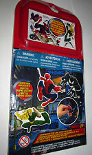 NEW Marvel Ultimate Spiderman Magnetic Activity Set Travel Fun Game Creative Toy