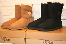 UGG Australia Women's Bailey Button Boots Authentic 5803 ChestNut Black Siz 6-10
