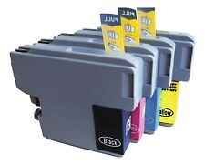 4 x Inkjet Cartridges Non-OEM Alternative For Brother LC1240