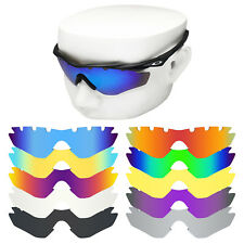 OWLIT Iridium Replacement Lenses for-Oakley M2 Frame Vented Sunglasses Polarized