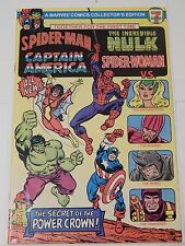 Spider-Man Captain America Incredible Hulk Spider-Woman 7-eleven giveaway comic