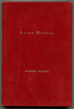 Richard Hudnut Sales Manual (Dubarry Products) 1950 business selling cosmetics