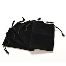 Jewelry Bag Black Velvet Necklace Ring Earrings Storage Bag Display Bages  SH