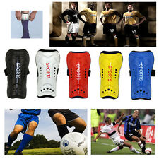Sports Soccer Football Shin Guards Pads Shinguard Protector Ankle Shin Pads New