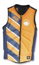 Liquid Force Z Cardigan Zip Wakeboard Impact Buoyancy Vest Orange Med 61347