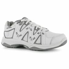 Prince QT Scream 4 Hard Court Tennis Shoes Womens White/Silver Trainers Sneakers
