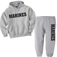 US Marines sweatpants sweatshirt marine corps sweat shirt workout gym gift idea