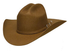 Western Brown Wool Felt Cowboy Hat with Band Adult New Wrangler Free Shipping