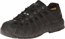 Caterpillar SWITCH ST Mens Black P90295 Steel Toe Slip Resistant Work Shoes